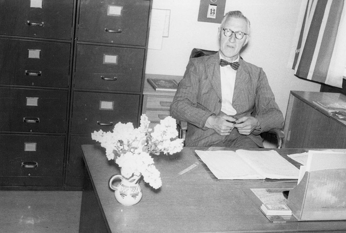 person, avdelingssjef, Ødegård, interiør, kontor