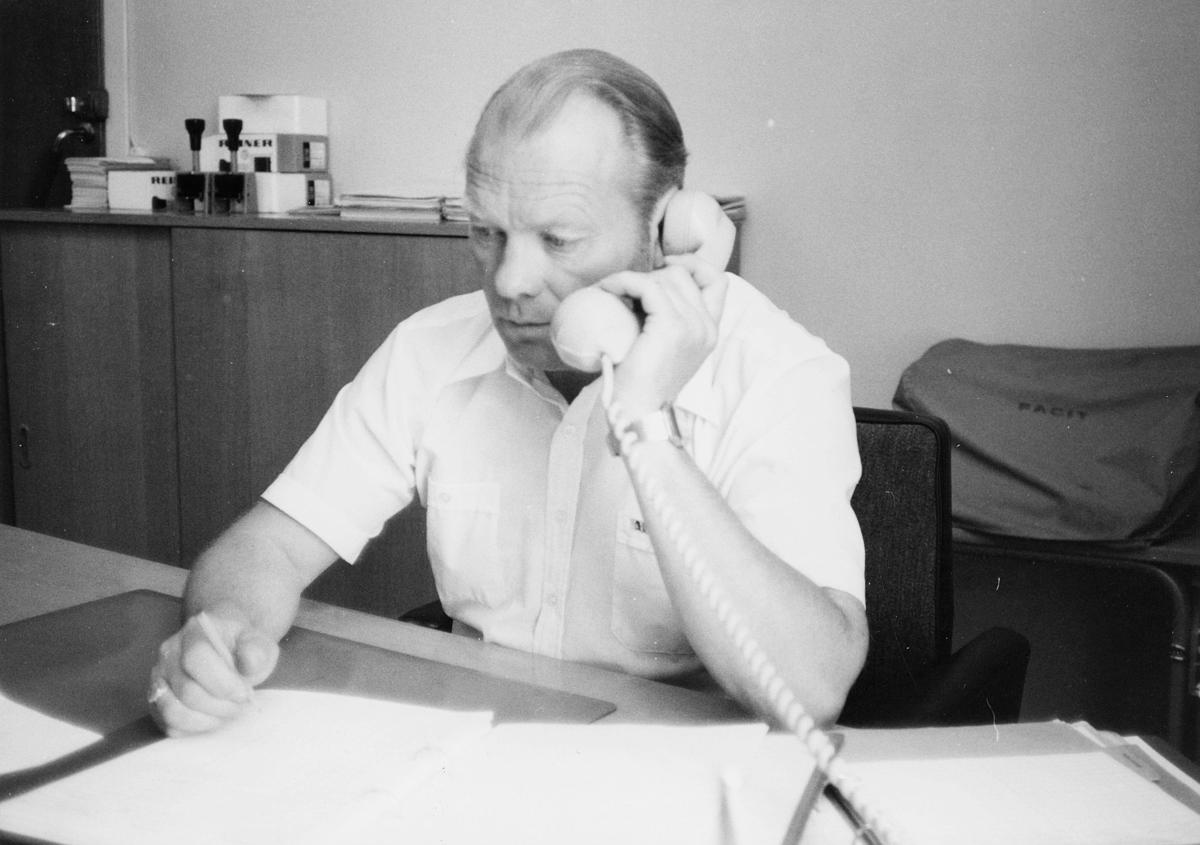 personal, Rjukan, postsjef, Jørgen Stokken, kontor