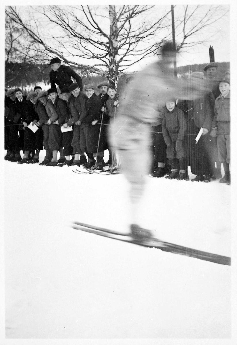 Ski, skirenn, tilskuere