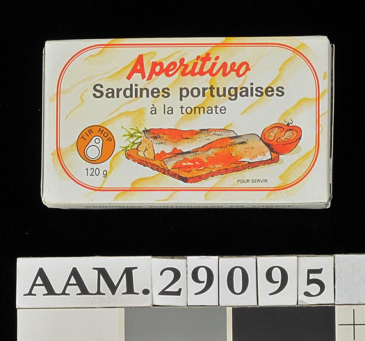 Sardiner med tomat