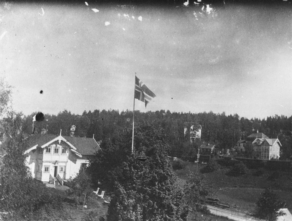 Villa Sætrehøgda (Høgda), Skiveien 216.