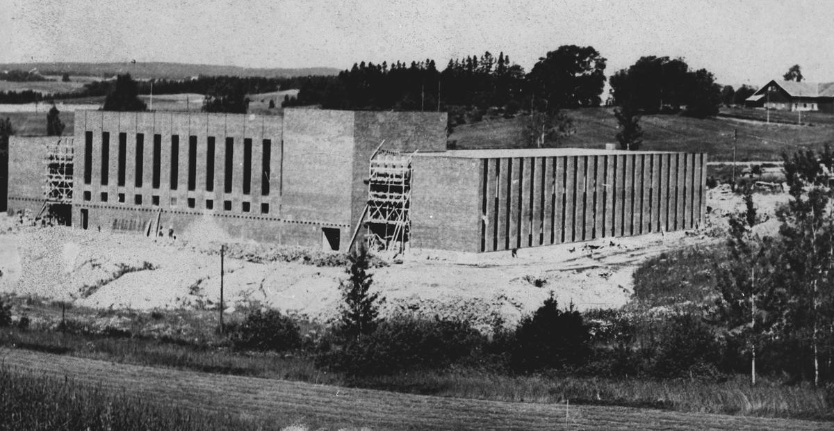 Bygging av Vormsund u-skole.
