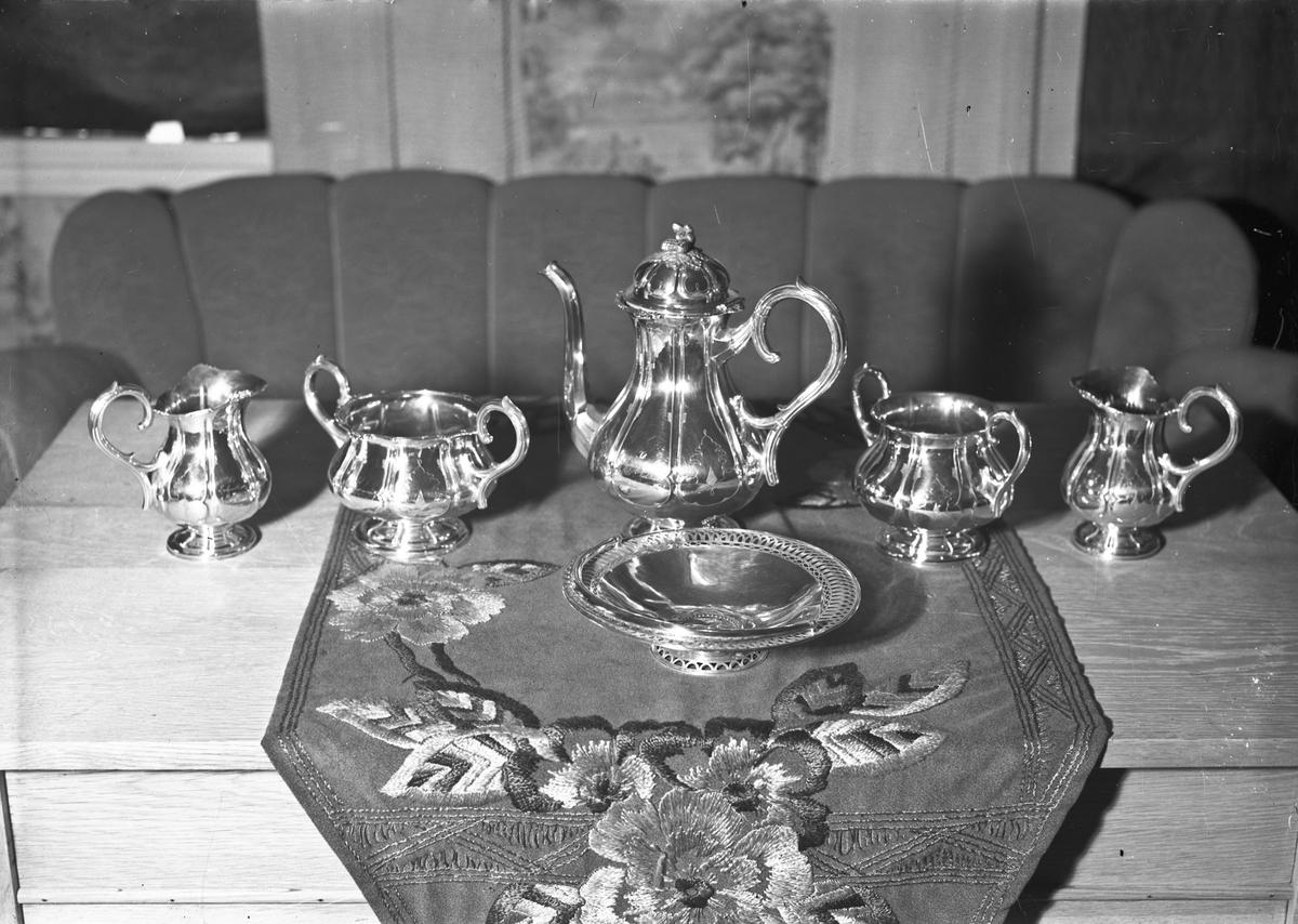 Kaffeservise - i sølv?