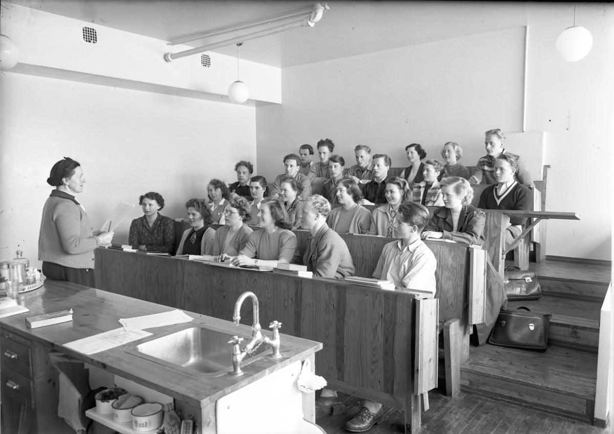 Sykurset på Dokken skole.