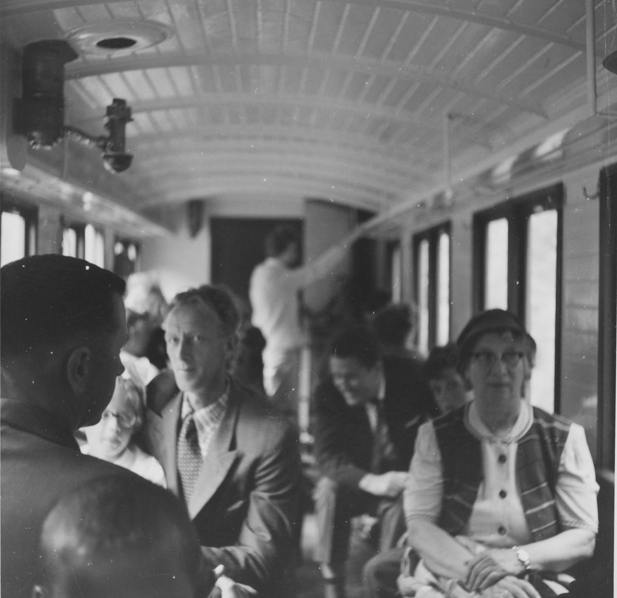 Ombord i siste ordinære tog fra Sørumsand til Skulerud.