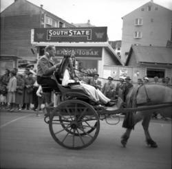 Fra Synnøve Solbakken jubileet i 1957.