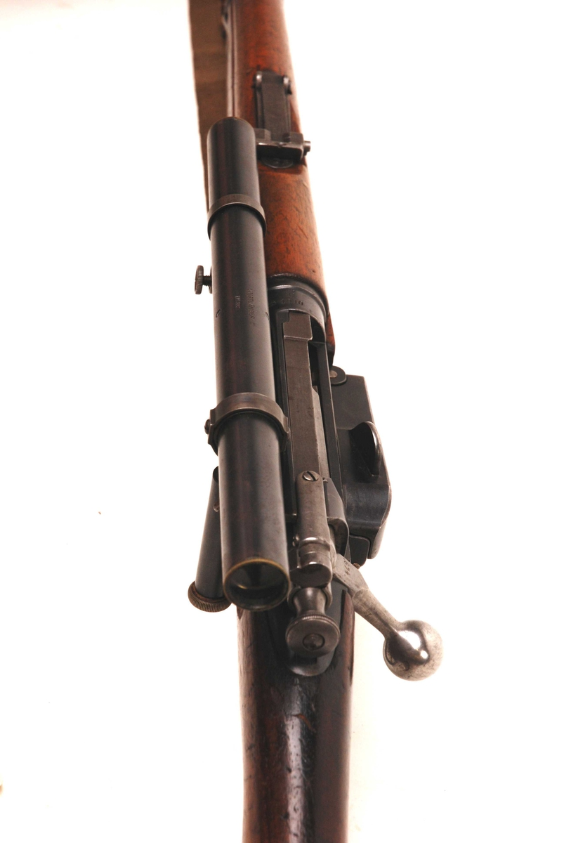 Skarpskyttergevær 6,5x55 Krag Jørgensen M1894