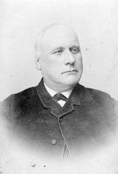 PORTRETT CHRISTOFFER J. RØHNE.  Christopher Johansen Røhne,