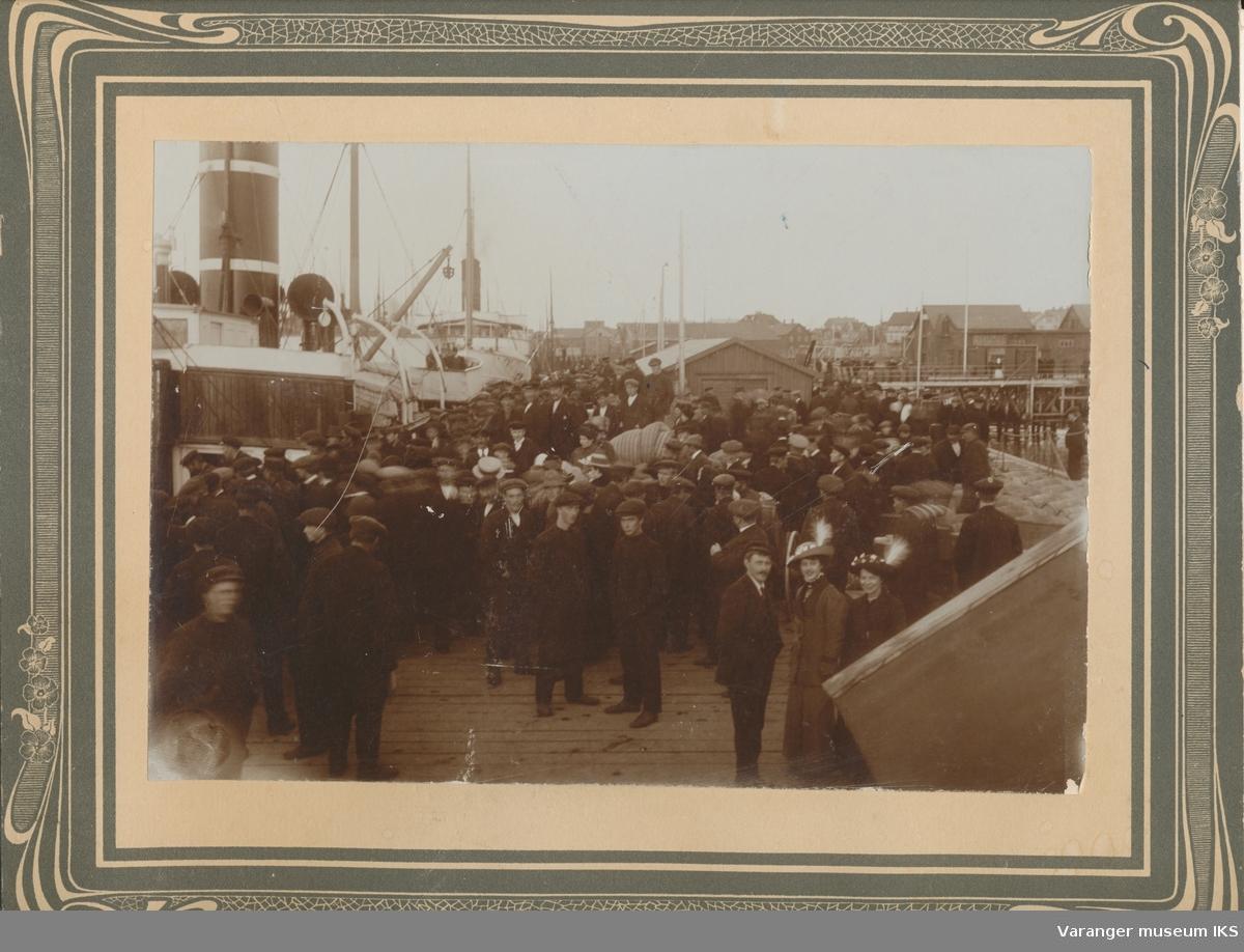 Innvielse av Dampskipskaia, sommeren 1913