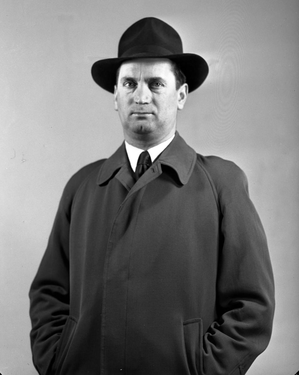 Mann med hatt
