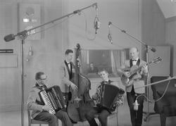Helge Grande, foto: quartett i N.R.K's studio