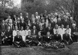 Konfirmantene ved Tr.heim off. skole for døve i 1931