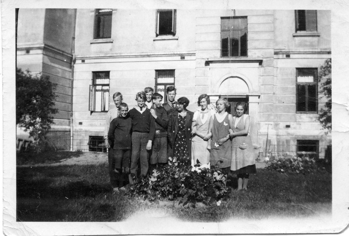 Døveskolen, 7 klasse i 1934