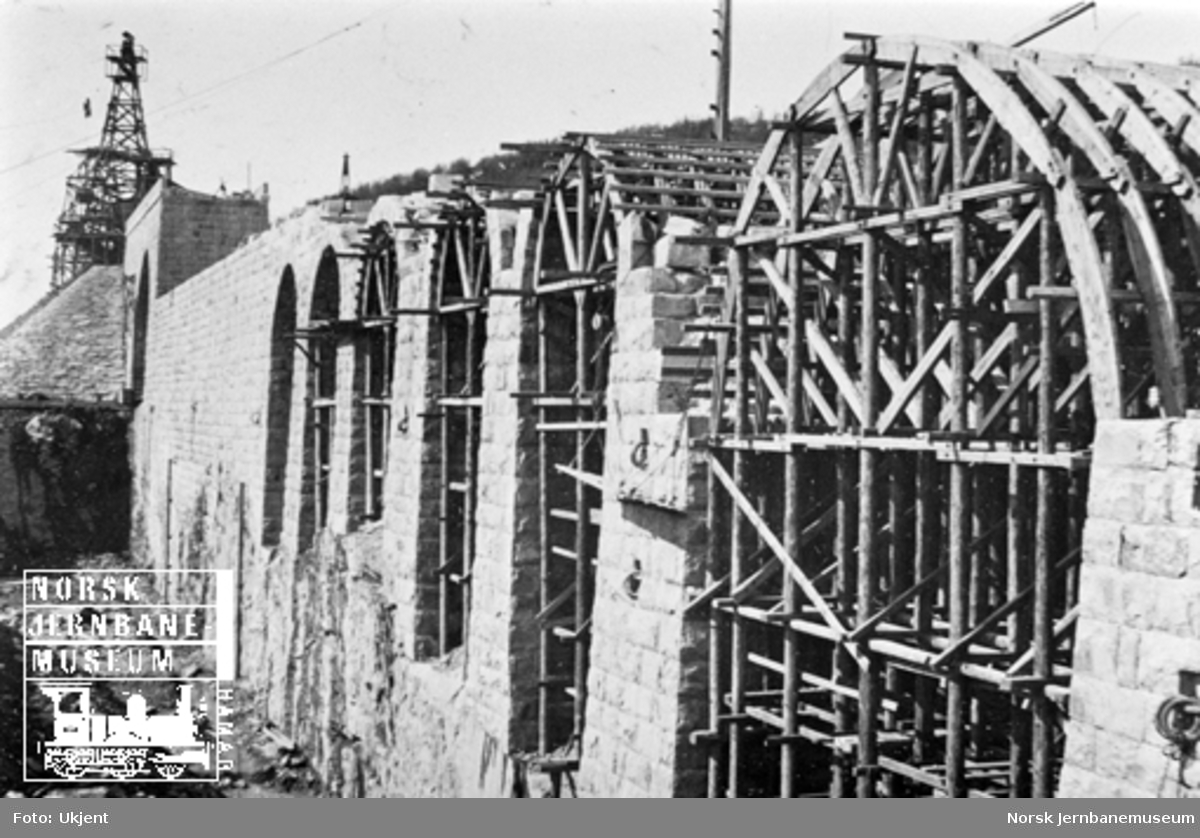 LKABs malmkai i Narvik under bygging