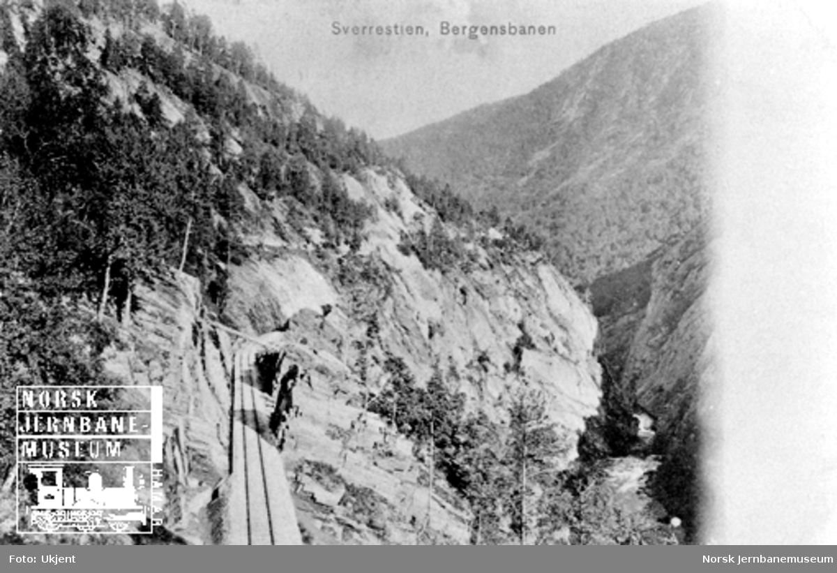 Bergensbanen ved Sverrestigen