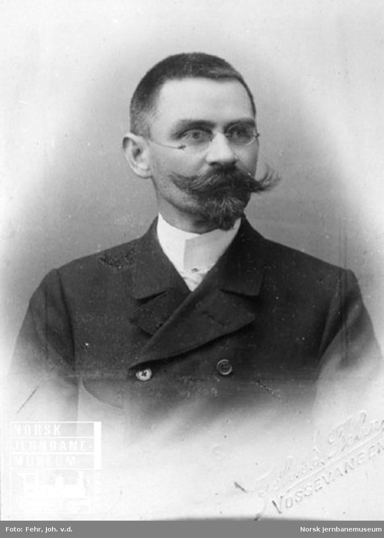 Portrett av Hans Gudbrand Hammer