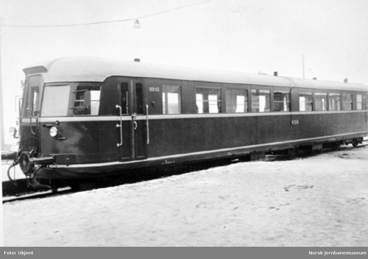 Dieselmotorvogn litra Cmo type 6a nr. 18243 ved levering