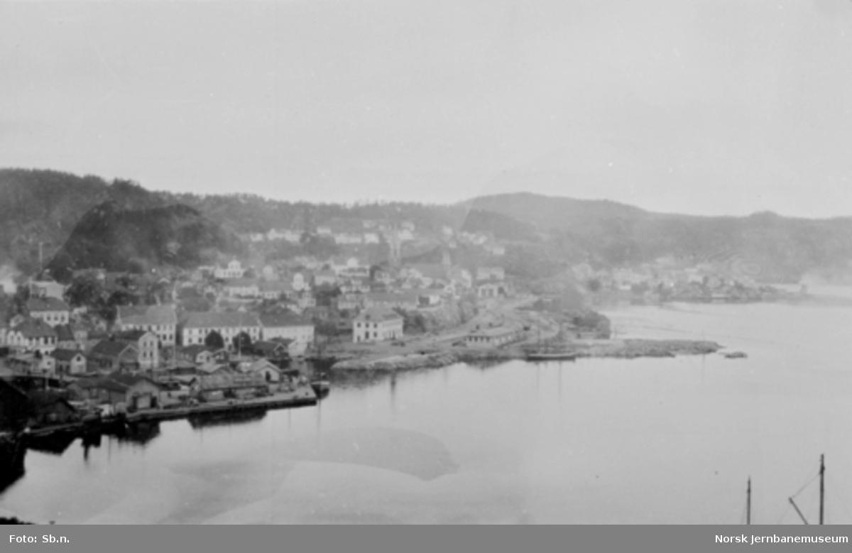 Kragerø stasjon, oversiktsbilde