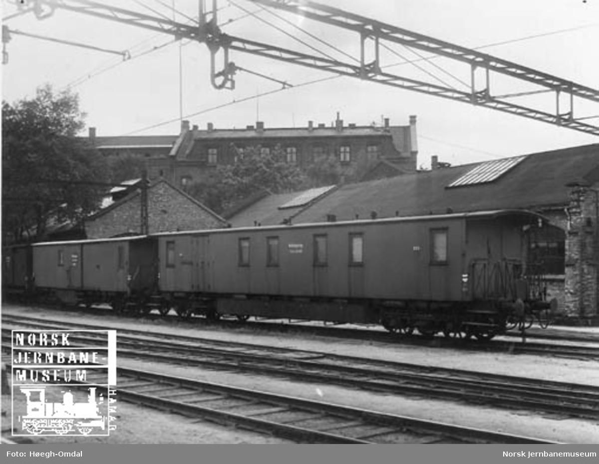 Redskapsvognene til NSB Oslo distrikt, litra Ro 315 og 12183
