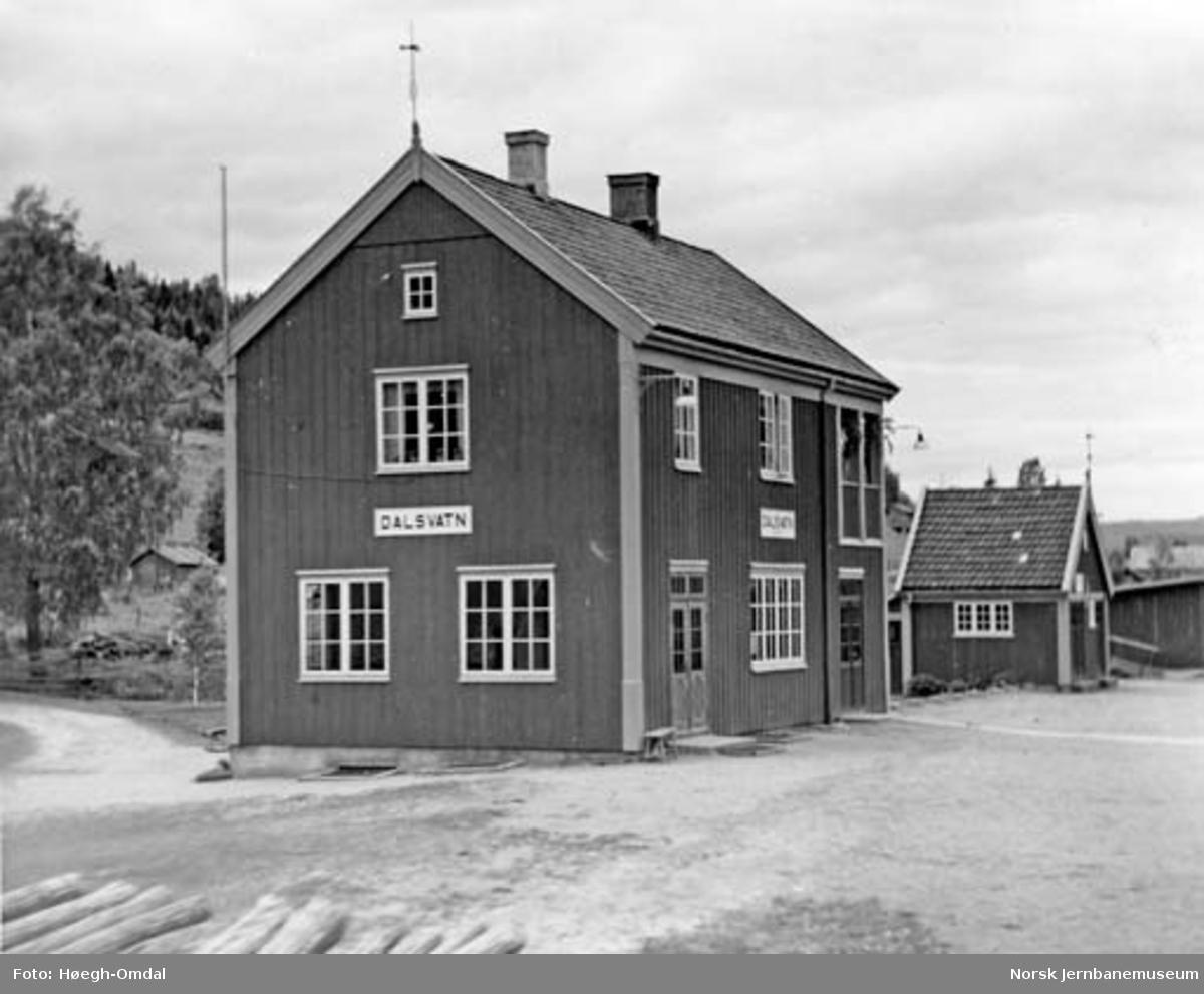 Massetransport Borgestad-Rjukan : Dalsvatn stasjon