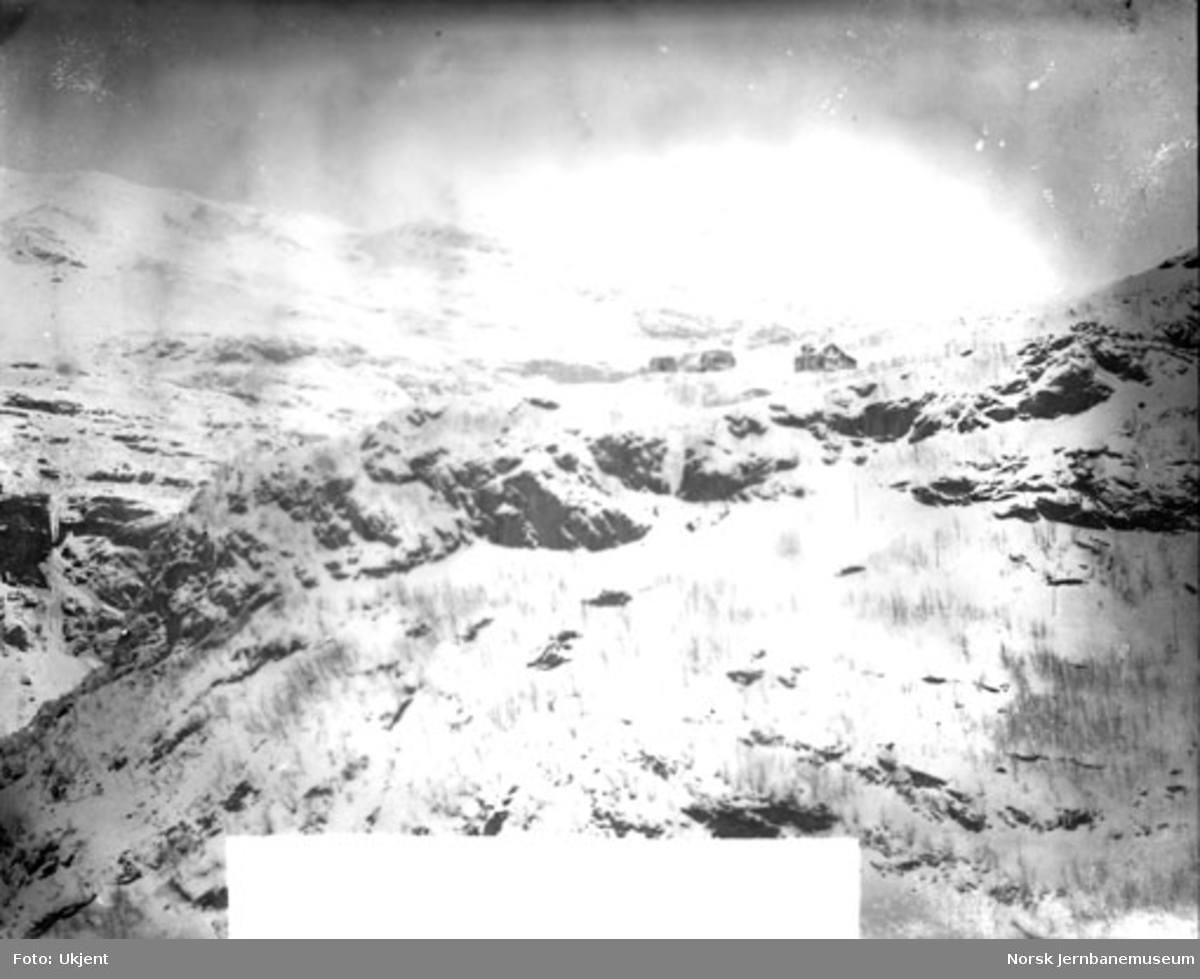 Flåmsdalen sett mot Vatnahalsen