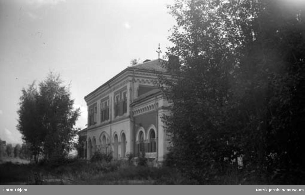 Kongsberg gamle stasjonsbygning