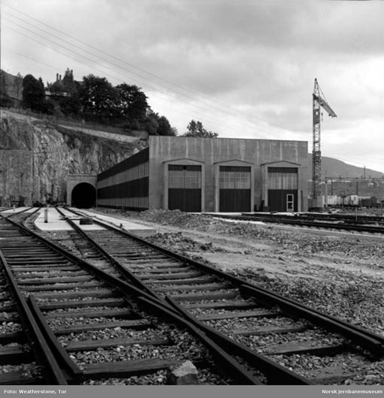 Ny lokomotivstall på Bergen stasjon