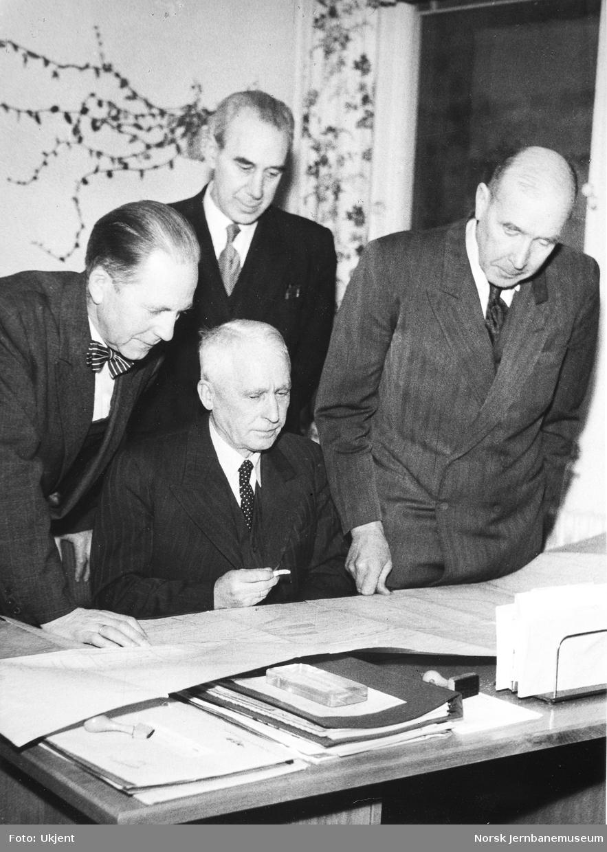 Ledelsen for plankontoret for Oslo sentralstasjon