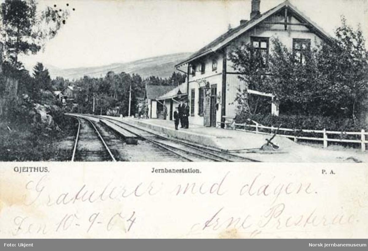 Geithus stasjon