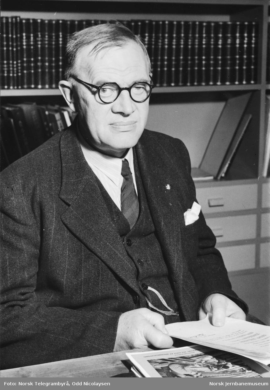Portrett av overingeniør Victor G. Berthelsen