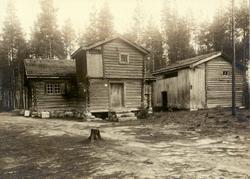 Øvre Rendal, Nord-Østerdal, Hedmark. Barfrøstua fra Bjøntegå
